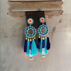 'Rebecca Minkoff' Seed Bead Earrings 🦋 NWT